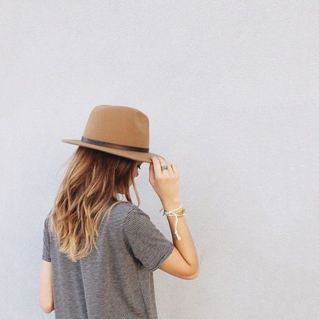 Camel fedora hat perfect for summer. Find a similar one here: http://asos.do/7rJAxs
