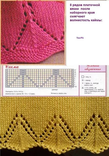 Knitted pattern no. 117