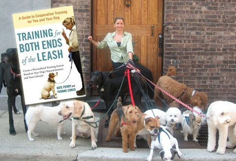 @Kate Perry lays the groundwork for cooperation in dog training in her new book, TRAINING FOR BOTH ENDS OF THE LEASH.  #dogs #puppies #dogtraining