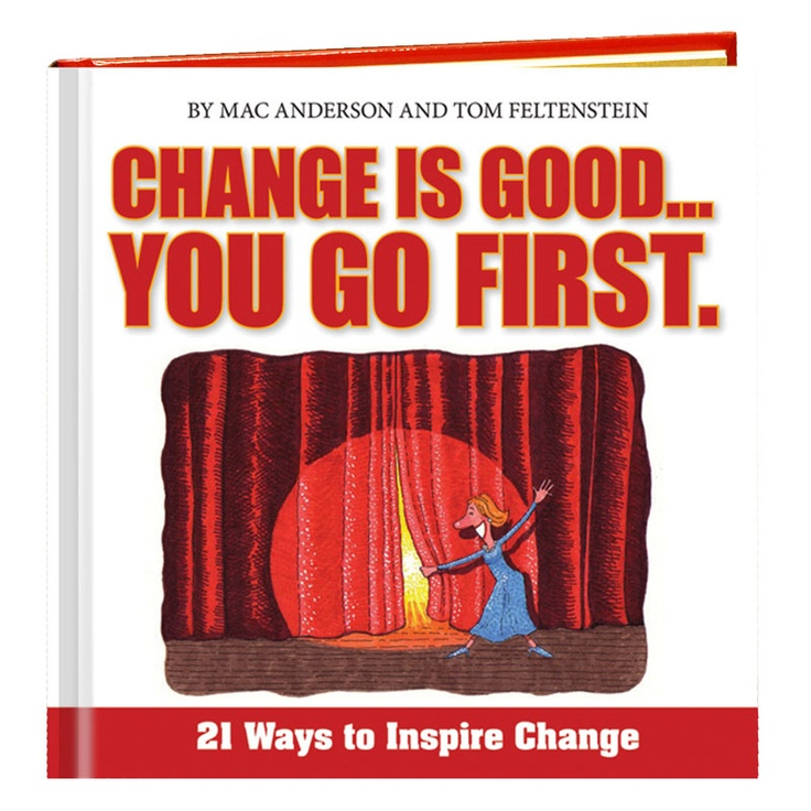 Inspirational book for those who need a change but afraid to do it.  Read this book and learn 21 ways to inspire change!