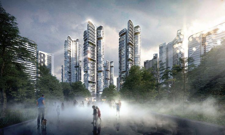 Housing development by UNStudio in Seoul, South Korea