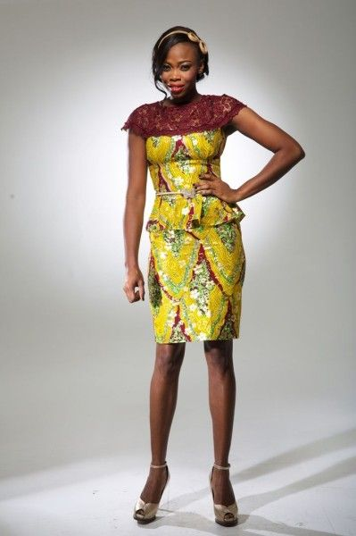 C'est un bien jolie collection que nous propose la marque Bijelly Couture qui nous vient du Nigeria. Des couleurs vives et pétillantes, des mariages de couleur dans la mouvance «color block» et une très charmante utilisation de la dentelle pour des pièces féminines. Coup de coeur pour la robe jaune en pagne avec des manches ...
