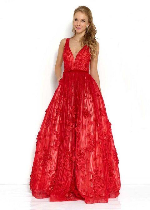 spoločenské šaty svadobný salón valery, šaty na ples, luxusné šaty, šaty na svadbu, šaty na stužkovú, luxusné šaty, požičovňa šiat, červené šaty
