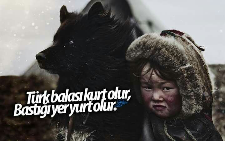 Türk..  kutlu ırk
