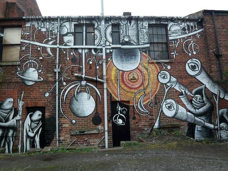 Phlegm graffiti, Sheffield: Street Artists, Art Illustrations, Community Editing, Streetart Museums, Graffitiurbanstreet Art, Art Callejero, Amazing Streetart, Awesome Art, Graffiti Art