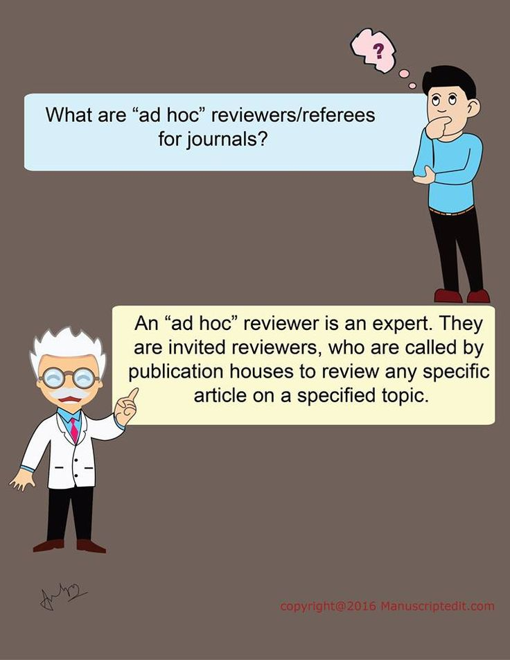 "#Manuscriptedit @ What are ""ad hoc"" reviewers/referees for #journals? An ""ad hoc"" #reviewer is an expert.  They are invited reviewers, who are called by #publication houses to review any specific article on a specified topic.  #Manuscriptedit #imagepost : http://bit.ly/28TaaQi"