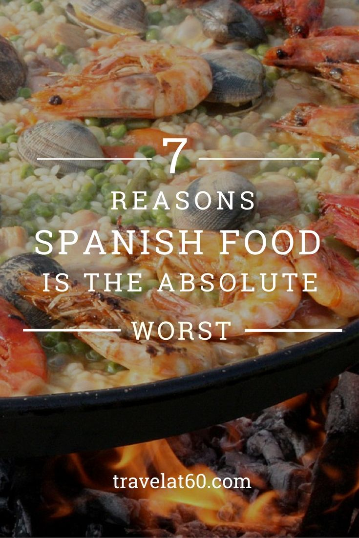 Who knew Spanish food could make our lives so much more difficult?