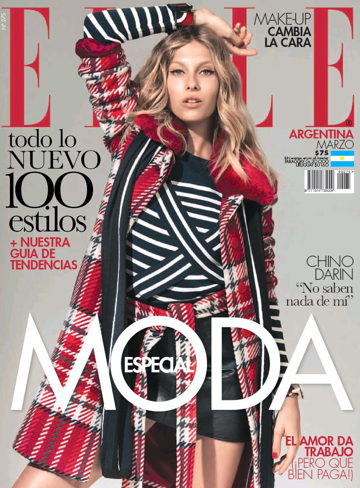 Katharina Kaminski, Elle Magazine [Argentina] (March 2017)