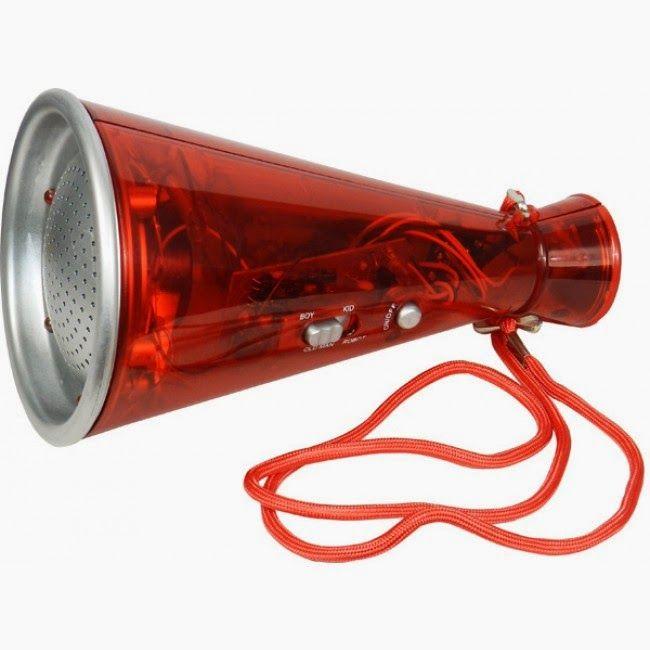 Megáfono Distorsionador de Voz | Regalos de Navidad