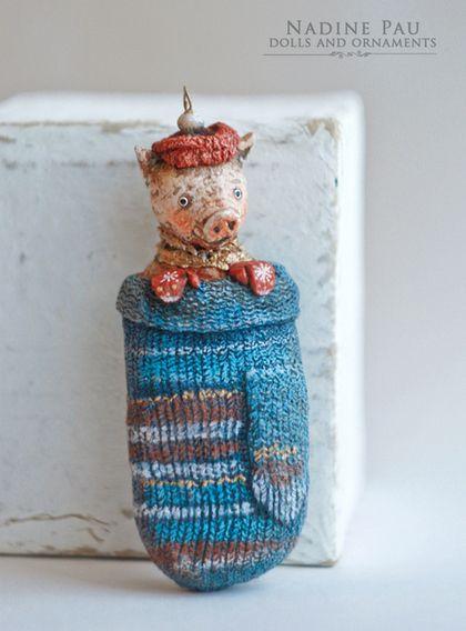 Коллекционные куклы ручной работы. Про Новый Год. Надежда Шахристенберг. Ярмарка…
