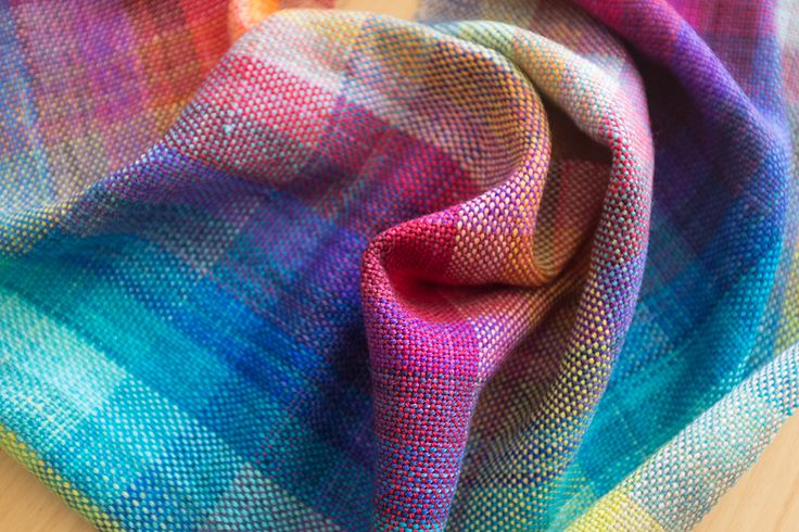 stunning woven scarf w/tutorial   The Blue Brick