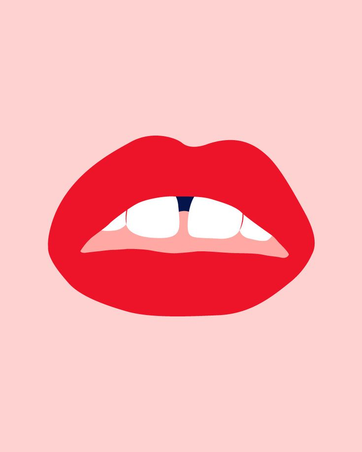 kiss my #lips  #illustration byisabel.com/illustration#/99days/