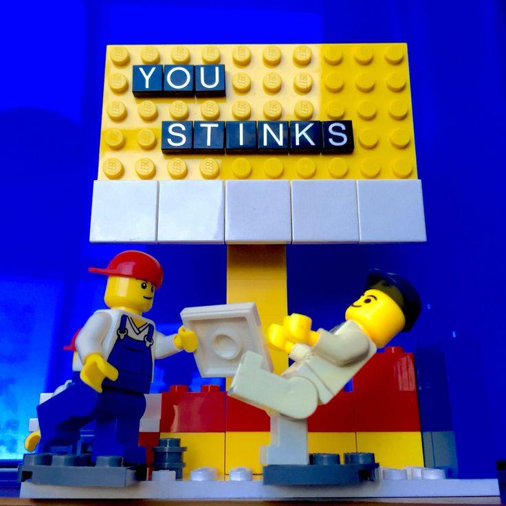 You stinks