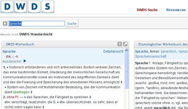 DWDS: Digitales Wörterbuch der Deutschen Sprache at www.dwds.de. One of the best German dictionaries I've seen online. Contains pronunciation, etymology, synonyms, collocations, and corpus examples.