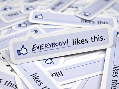 "Facebook ""Like"" Stickers"