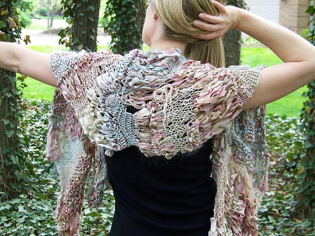 Ravelry: wearmoa's Moa HandKnits, experimental design.   GORGEOUS!