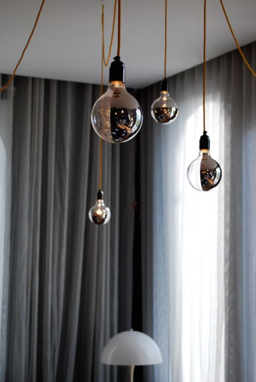 37 cool lamps that consists almost only of lightbulbs shelterness