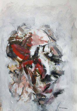 """Saatchi Online Artist Masri Hayssam; Painting, """"Anatomy 44 """" #art"""
