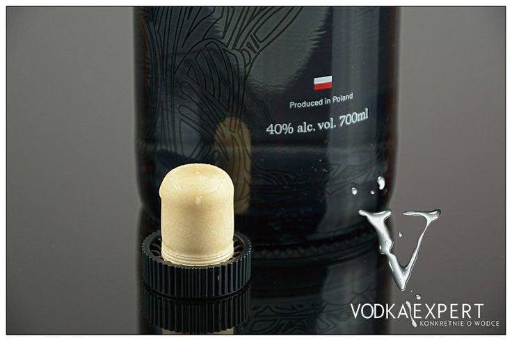 Vodka Kozuba Pure Grain. www.vodkaexpert.pl