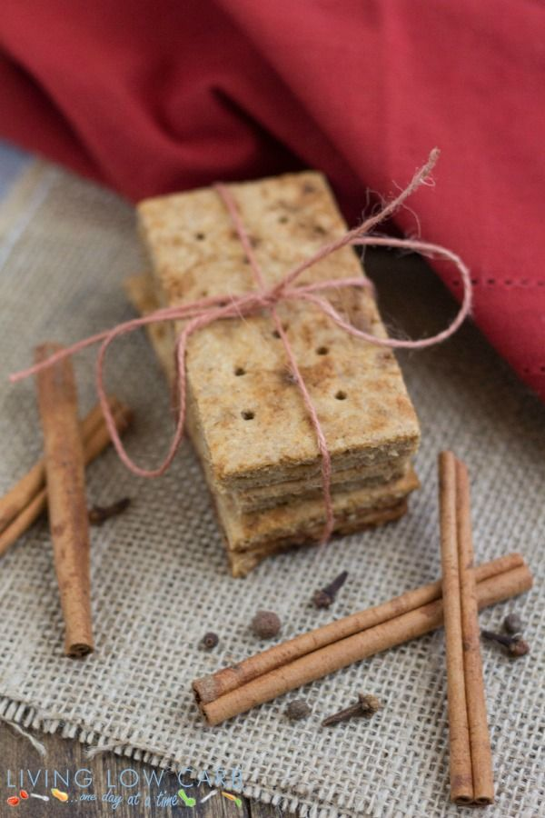 homemade grain-free graham crackers