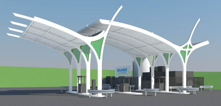 First out of five new biogas stations to be build in 2015, location Utrecht