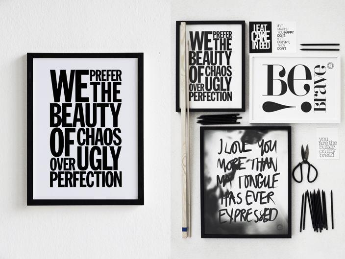 Wandgestaltung mit Typografie: Serife oder Nicht-Serife? | SoLebIch.de