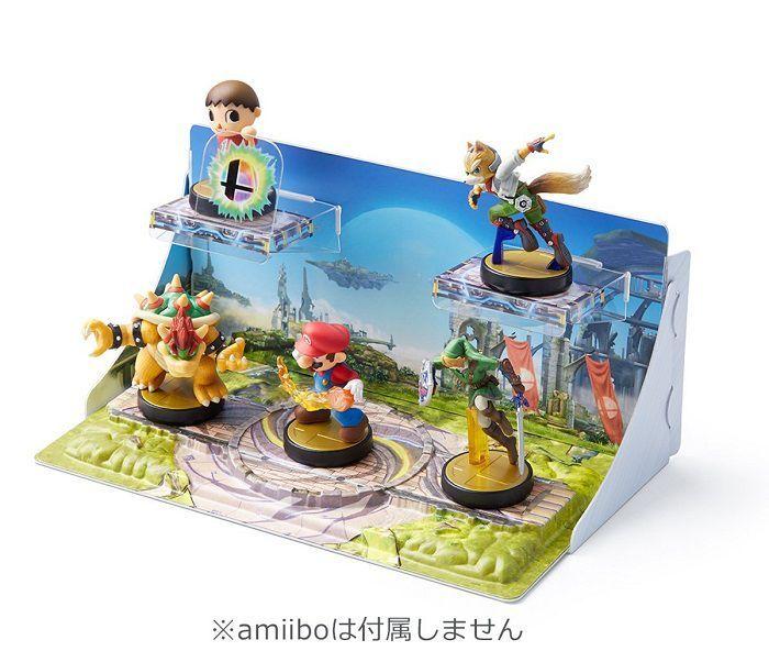 Diorama for amiibo Super Smash Bros