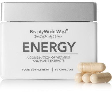 Beauty Works West - Energy Supplement (60 Capsules) - Colorless