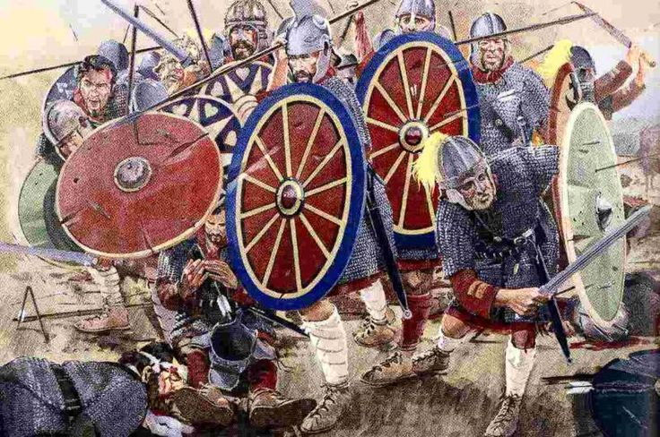 wikipedia roman battles | Battle of Adrianople 378 Romans under Valens and the Goths