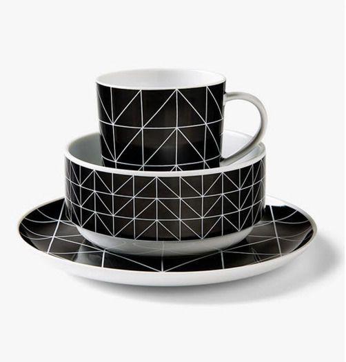 Kami Side Plate - Black, Side Plates