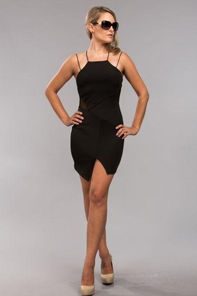 Basic Instinct Little Black Dress AUD$39.24 + Free express shipping