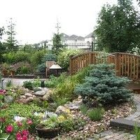 Landscape Design for Pie-Shaped Lots - gallery of landscaping design ideas for pie-shaped lots