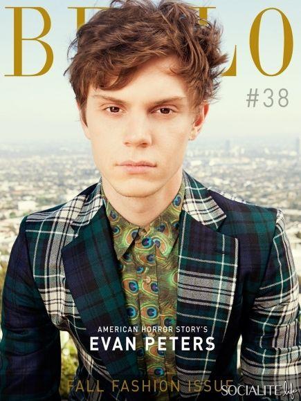 evan peters I LOVE HIM