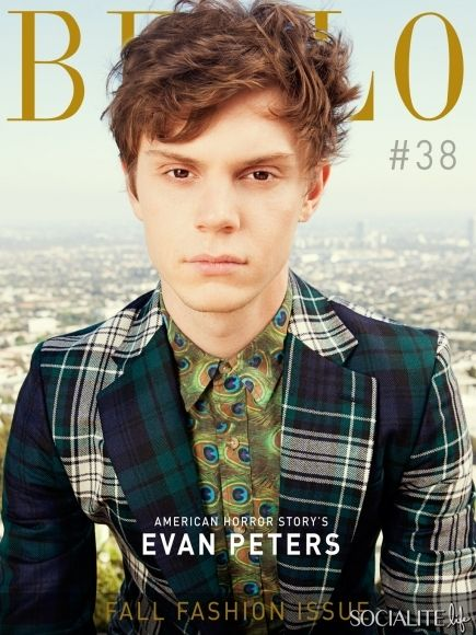 Evan Peters is so cute when he's not playing some kind of psycho in AHS. Love him!!