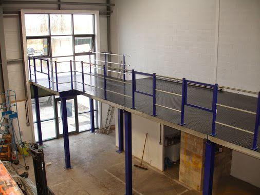 Mezzanine Floor in Nottingham installed by The Raised Storage Area Company #MezzanineFloor #Needmorespace