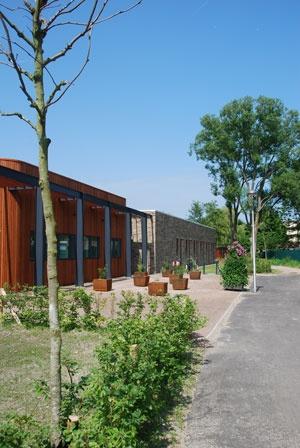 Ontwerp buitenruimte zorgterrein Haagstreek, Leidschendam door Vollmer & Partners