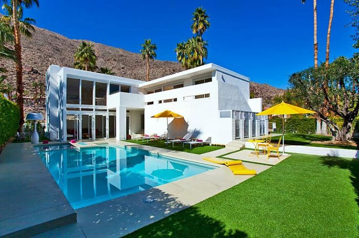 El Portal in Palm Springs, California   HomeDSGN, a daily source for inspiration and fresh ideas on interior design and home decoration.