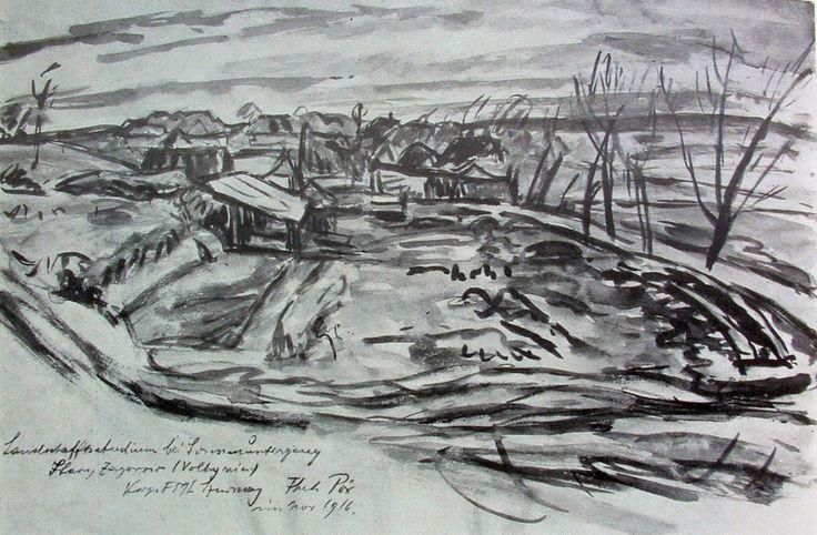 PÓR Bertalan: Volhinia, 1916