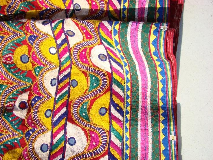 Embroidery rabari tribe gujarat rajasthan india