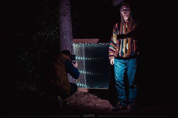 Infinity mirror deep in the woods  Sūpynės festival 2014, Pakretuonė, Lithuania