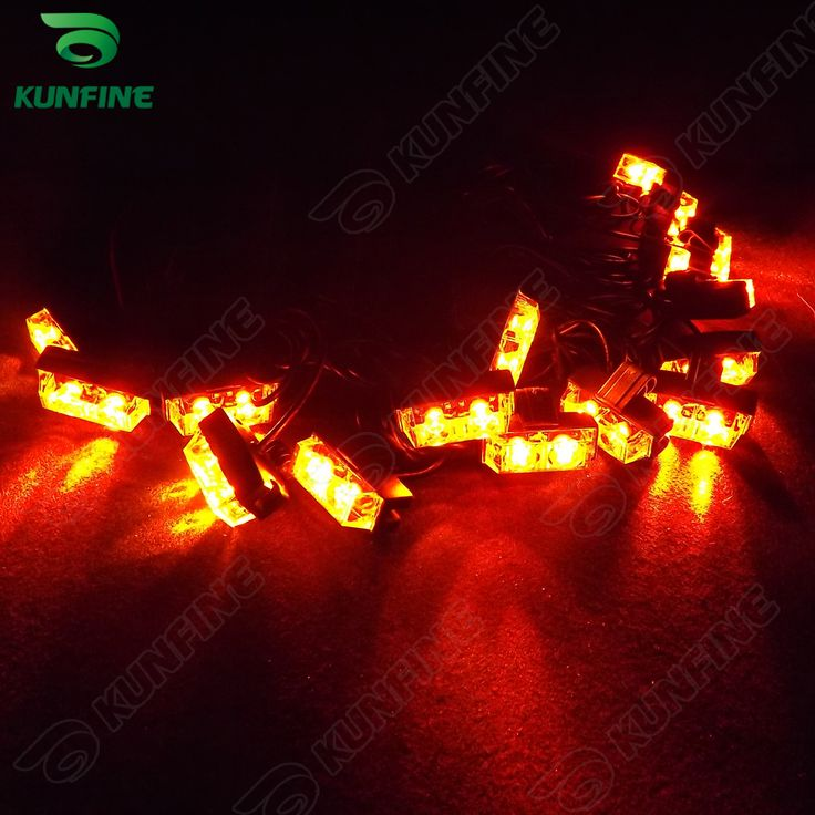 ==> [Free Shipping] Buy Best 16 in 1 Car LED strobe light bar car warning light car flashlight led light high quality Traffic Advisors light KF-L3035 Online with LOWEST Price   607381981
