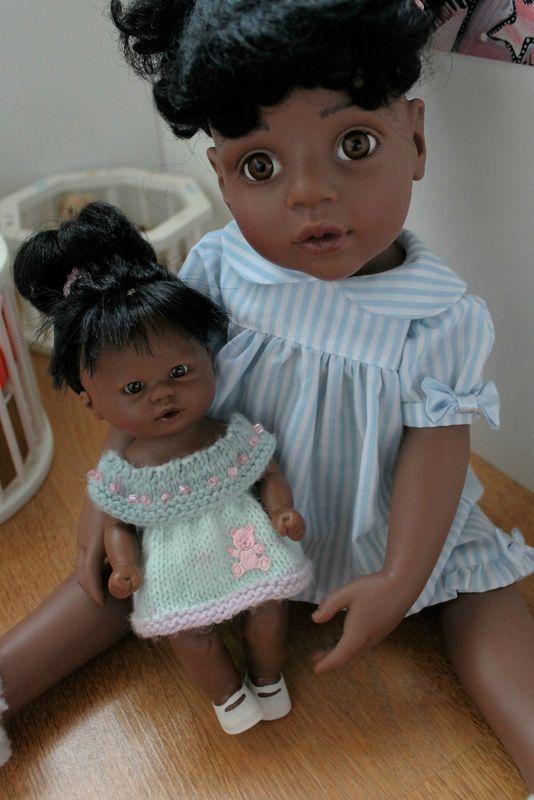 Il est l'heure Cassie ! + tuto robe bain-de-soleil pour poupée D'nénés ou poupée Corolline