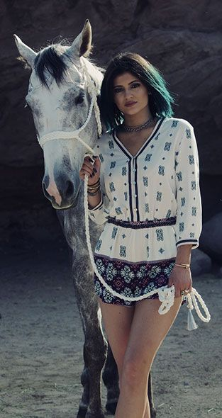 """Explore Kendall & Kylie's new """"Desert Wanderlust"""" fall collection, exclusively at PacSun."""