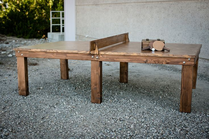 Ping Pong/Dining room table  To be behind the couches or maybe used as a dining room table with a removable net?