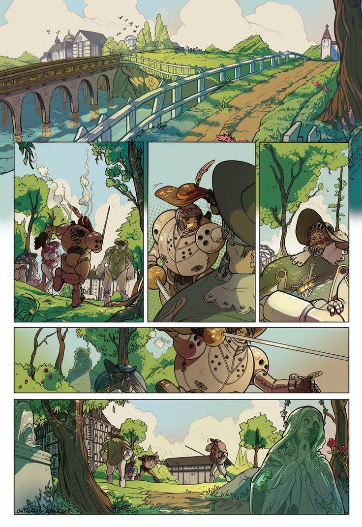 Comic page_in the park by saspy on deviantART