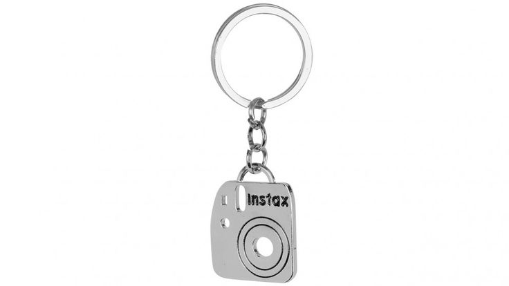 Instax Mini 8 Photo Keyring - Silver Metal - Instax - Cameras, Printers & PhotoCentre | Harvey Norman Australia