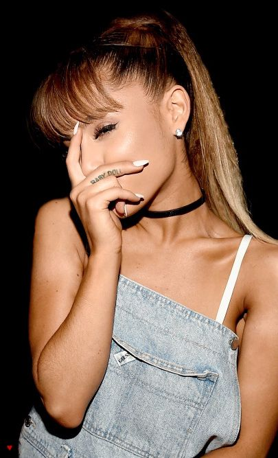 Ariana Grande ♥ Baby Doll tattoo                                                                                                                                                                                 Más