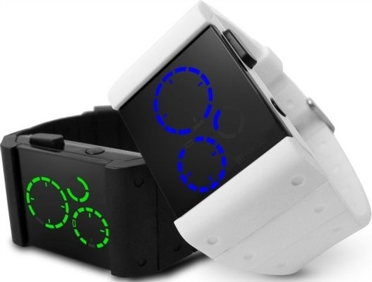 New Tokyoflash Watch: Kisai Satellite | GeekAlerts: Tokyoflash Watches, Future Vision, K S Future, Jason Future, Satellite Watches, Gadgets Mania, Kisai Satellite, Futuristic Watches, Tokyoflash Kisai
