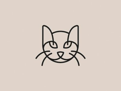 Cat logo / pinned on toby designs...maybe a tattoo idea~