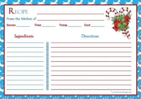 293 best Card making images on Pinterest Free printable, Printable - recipe card